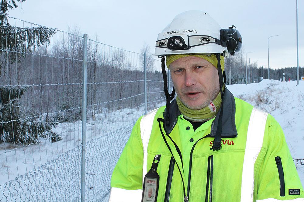 Viltsluss i Aneby - Svevia